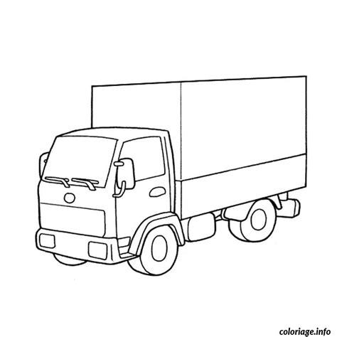 dessin de camion les dessins  coloriage