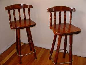 About A Stool : solid wood swivel pub bar stool chair set of 2 two dining kitchen stools chairs ebay ~ Buech-reservation.com Haus und Dekorationen