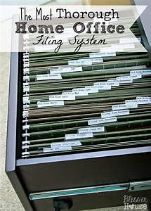 Organizing, The, Most, Thorough, Home, Office, Filing, System