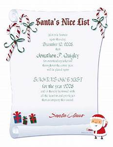 Printable santa letters and more with a free trial free for Nice list santa letter