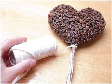 DIY birthday gift idea for coffee lovers  Heart topiary and coffee mug