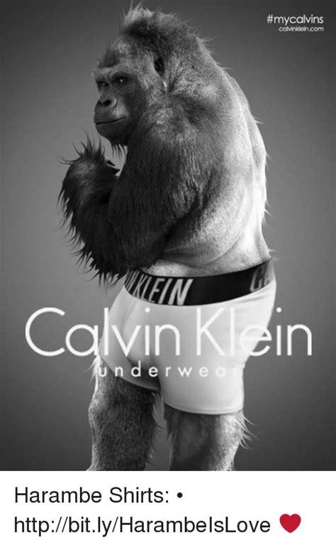 Dank Harambe Memes - mycalvins caminkeincom calvin k in n d er w e a harambe shirts httpbitlyharambeislove http