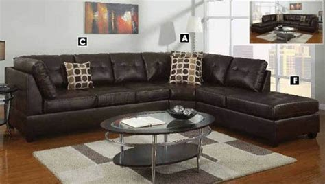 Sectional Sofa Design: Awesome U Shaped Leather Sectional