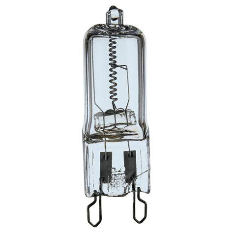 sea gull lighting 35 watt 120 volt halogen t4 clear