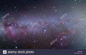 Mosaic of the southern Milky Way from Orion (right) to ...