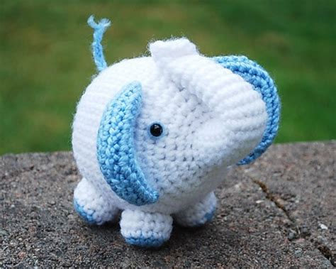 handmade crochet purple elephant stuffed toy   order