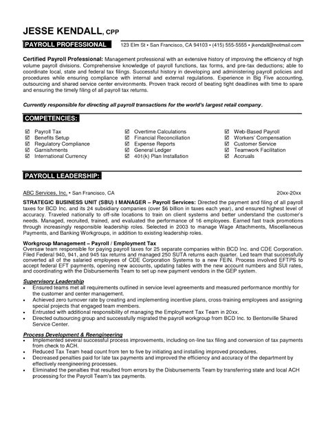 7 Samples of Professional Resumes | Sample Resumes