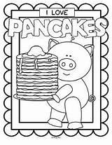 Pancake Pancakes Coloring Printables Posters Printable Colouring Teacherspayteachers Kidsparkz Teachers Activities Theme Pay Nutrition Letter sketch template