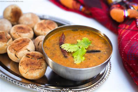 mp cuisine dal bati churma recipe crave cook click