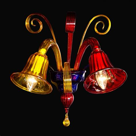 murano applique applique en verre de murano 2 feux fossa luminaires murano