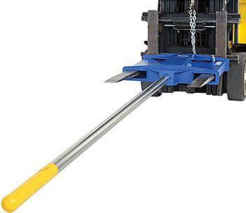 Low Profile Fork Mounted Rug Ram Carpet Pole   Carpet