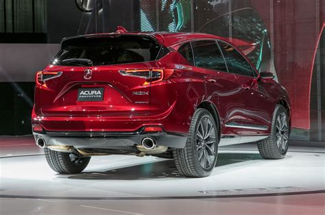2019 acura rdx prototype first larger stiffer more powerful motor trend