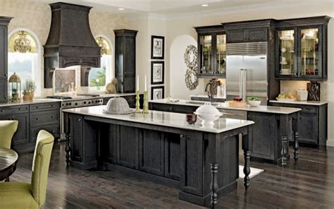 custom black kitchen cabinets hawk haven