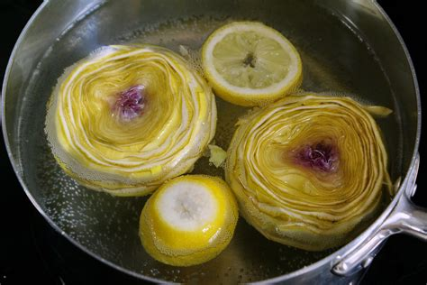 recettes de fond d 39 artichaut par chef simon cuire et
