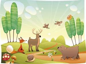 Kids Forest Mural Personalise Our Wallpaper With Your