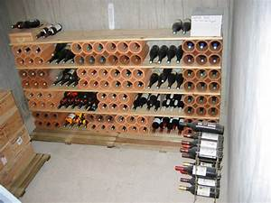 construire une etagere en bois maison design bahbecom With construire cave a vin maison