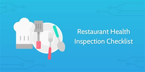 Restaurant Health Inspection Checklist  Process Street