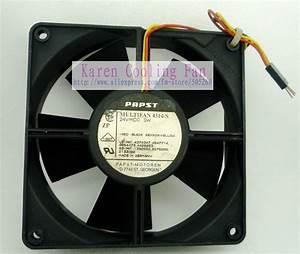 Ebm Papst 12cm 12032 24v 5w Multi Fan 4314s 3 Wire Typ4314 4314 Cooling Fan