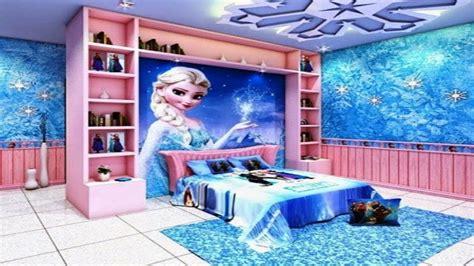 girls bedroom themed frozen youtube