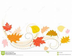 Leaves Blowing In The Wind Clipart - ClipartXtras