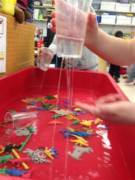 table activities for preschoolers quot it 39 s raining quot station for the sensory table in pre