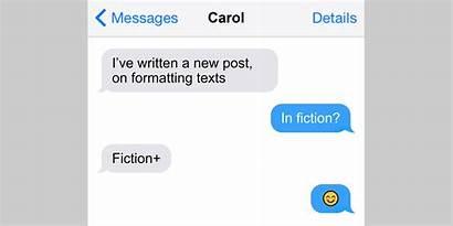 Text Messages Message Talk Fictional