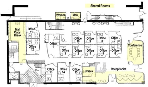 modern office cubicle design office floor plan 17th central executive suites