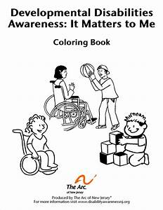 Disabilities Coloring Pages
