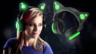 cat ears headphones cat ears headphones at brookstone