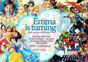 21 Superhero Birthday Invitations Psd Vector Eps Ai