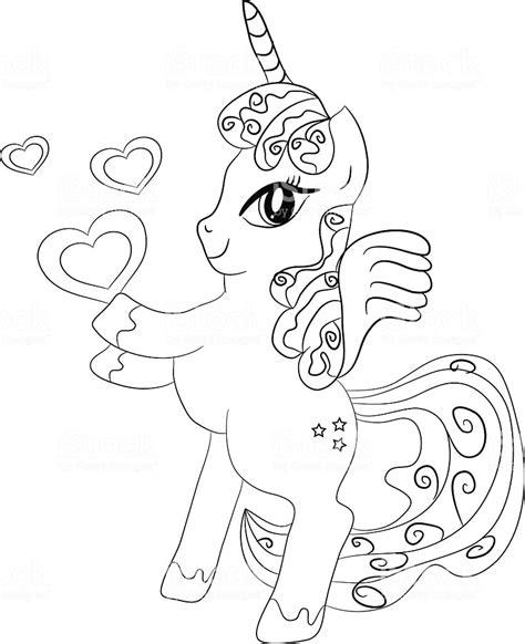 unicorno da stare e colorare per bambini disegno di unicorno che corre da colorare disegni da