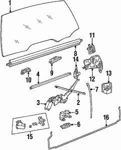 Buick Lesabre Actuator  Lock