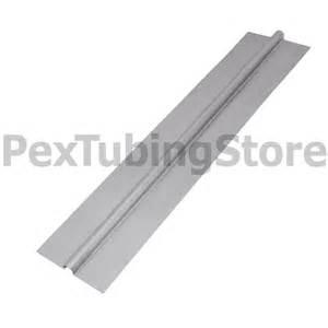 500 2ft aluminum heat transfer plates for 1 2 pex tubing