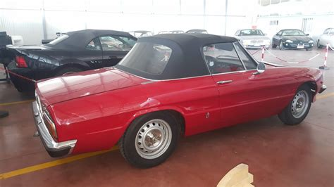 vendo alfa romeo spider  junior