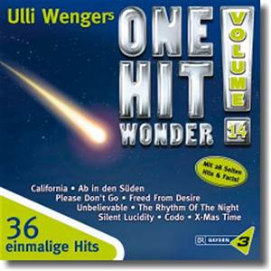Deutsche Album Charts Aktuell Bayern 3 Ulli Wengers One Hit Wonder Vol 14
