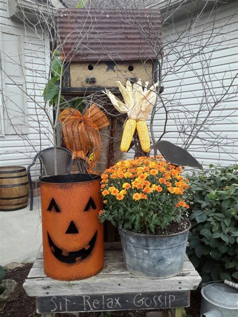 Outside Fall Display Primitive Pinterest