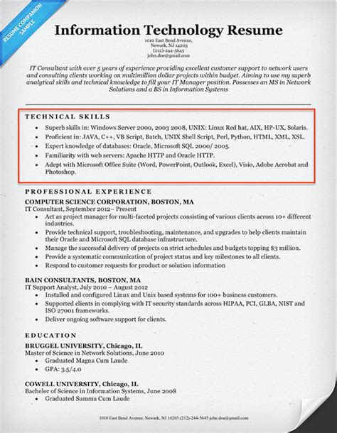 Skills For Resume by 20 Skills For Resumes Exles Included Resume Companion