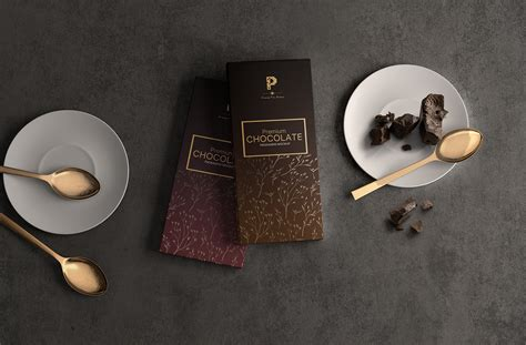 Free chocolate wrapper packaging psd mockup. Free Chocolate Bar Packaging Mockup - Free Mockups ...