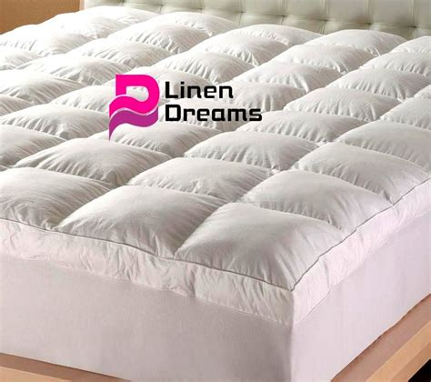 king size mattress topper king size luxury pillowtop mattress topper protector 5