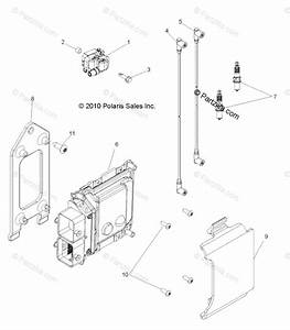 Polaris Side By Side 2012 Oem Parts Diagram For Electrical  Ignition
