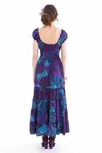 robe longue d ete violette originale et coloree esmalita With robe d été femme originale