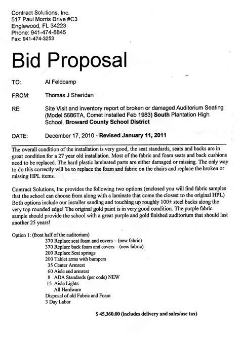 bid proposal template madinbelgrade