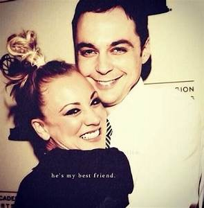 Kaley Cuoco and Jim Parsons   Soft Kitty Warm Kitty Little ...