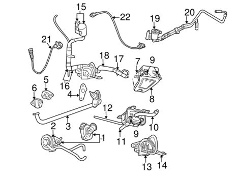 2006 Chrysler Town And Country Parts by Emission Components For 2006 Chrysler Town Country