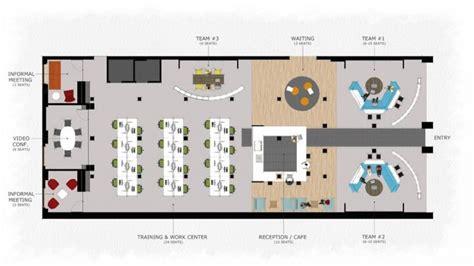 Open Space Floor Plan by Coworking Space Floor Plan 801 A