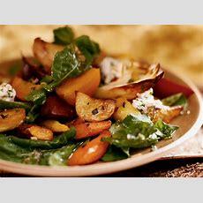 Honeyroasted Root Vegetable Salad Recipe  Michael Romano