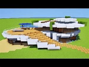 Belle Maison Moderne : minecraft tuto maison moderne originale youtube ~ Melissatoandfro.com Idées de Décoration