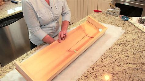 How To Cornice - how to cover a cornice board diy home decor tips