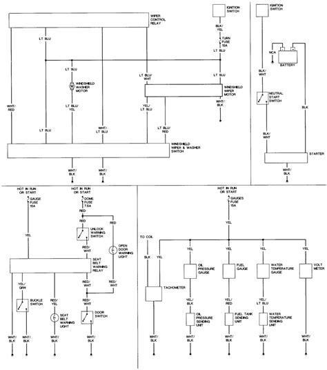83 Toyotum Wiring Diagram by Repair Guides