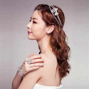 Korean Girls Top Ten Trendy Wedding Hairstyles HairzStyle Com : HairzStyle